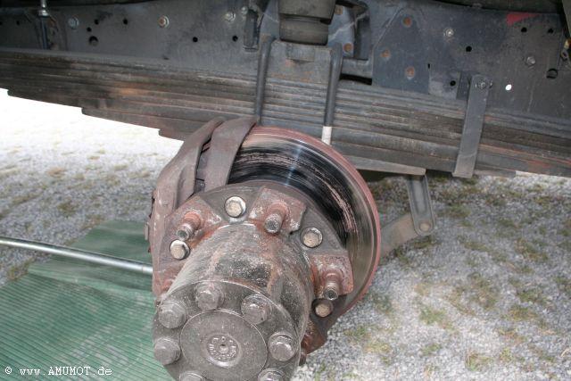 Bremssattel klemmt