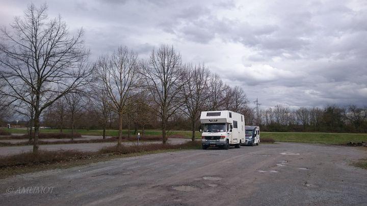 Parkplatz am Heidesee