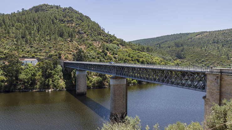 Portugal Sehenswürdigkeiten Tejo bei Rodao
