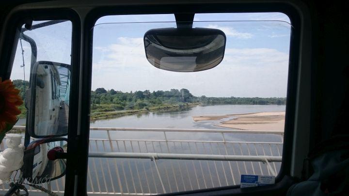 Fluss Wisla / Weichsel in Polen