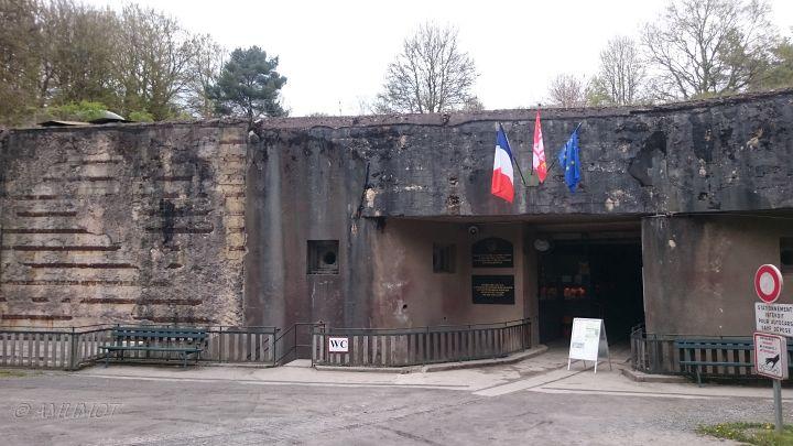 Eingang Four à Chaux