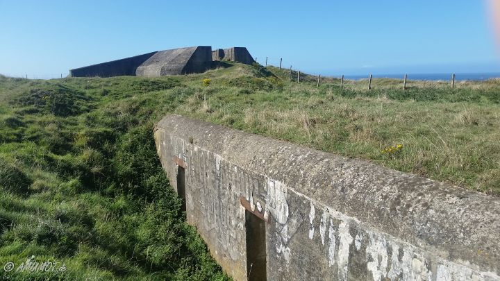 Bunker vom Atlantikwall am Cap Antifer