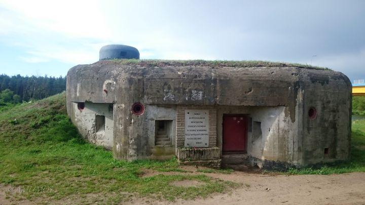 Nowogród bunker aus dem wk2