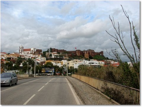 rote burg silves