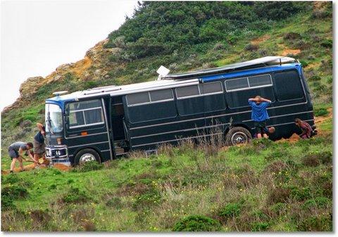 Bus ausgraben