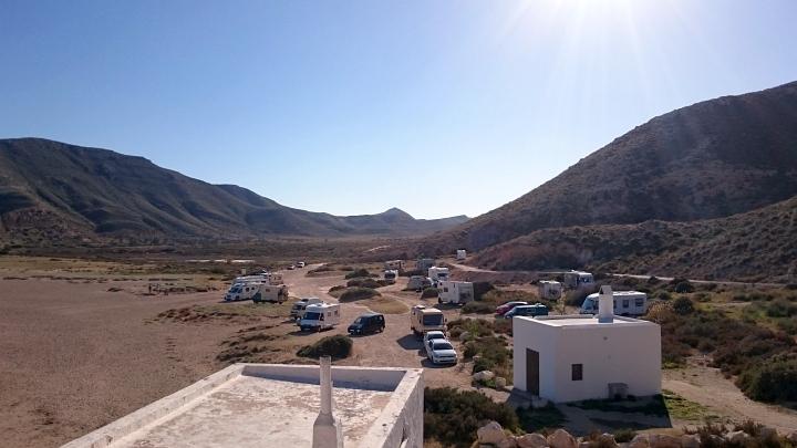 Mit dem Wohnmobil in Spanien frei stehen