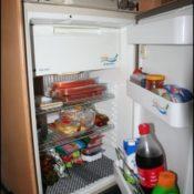 Camping Kühlschrank im Wohnmobil