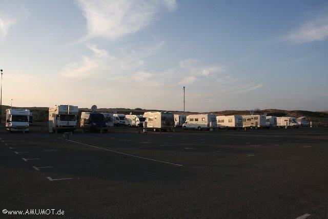 Wohnmobilstellplatz an der Silberküste Frankreich