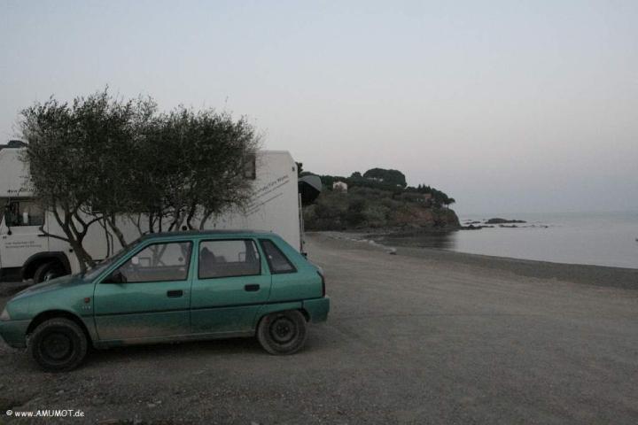 Bucht bei Colera