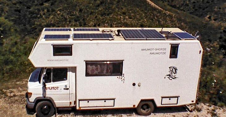 Wohnmobil Solaranlage selbst montieren