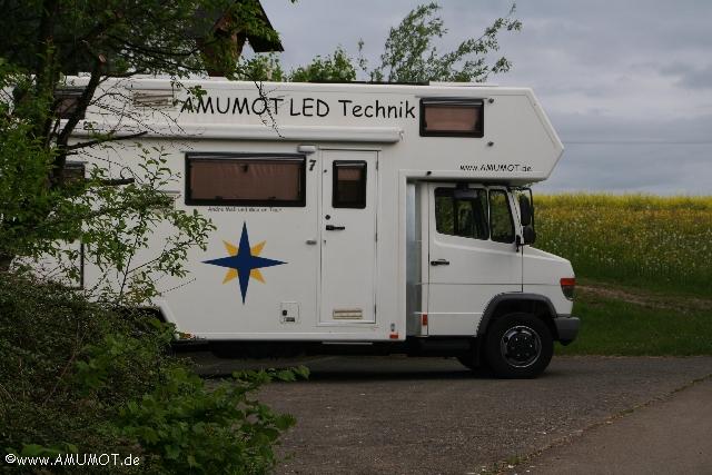 Fertig umgebautes Wohnmobil