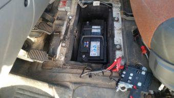 Neue Starterbatterie