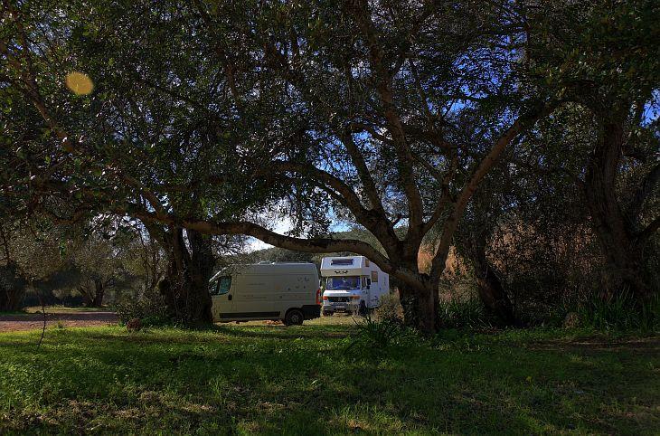 freistehen mit dem Wohnmobil in Portugal