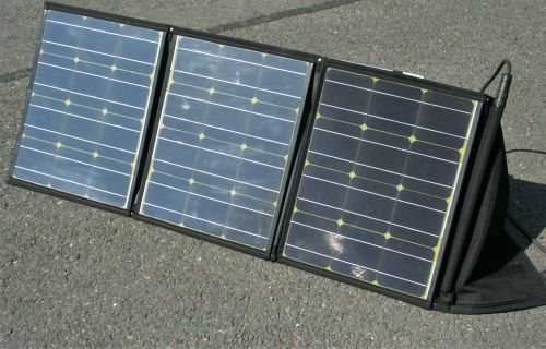faltbares Solarmodul Solarswiss