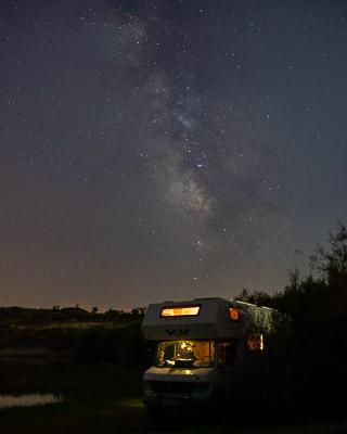 Milchstraße mit 50mm fotografieren