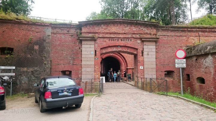 Eingang Festung Boyen