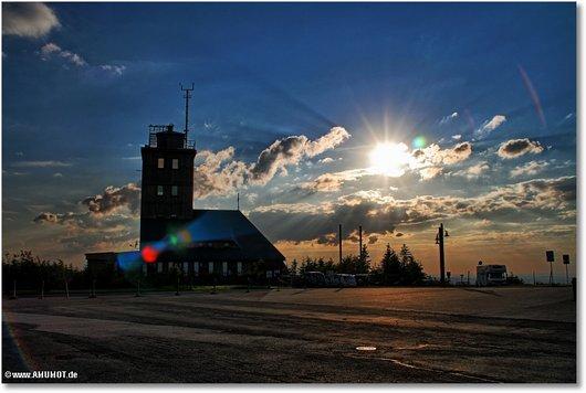 Sonnenuntergang fichtelberg