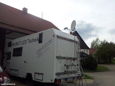 Internet via sat im wohnmobil