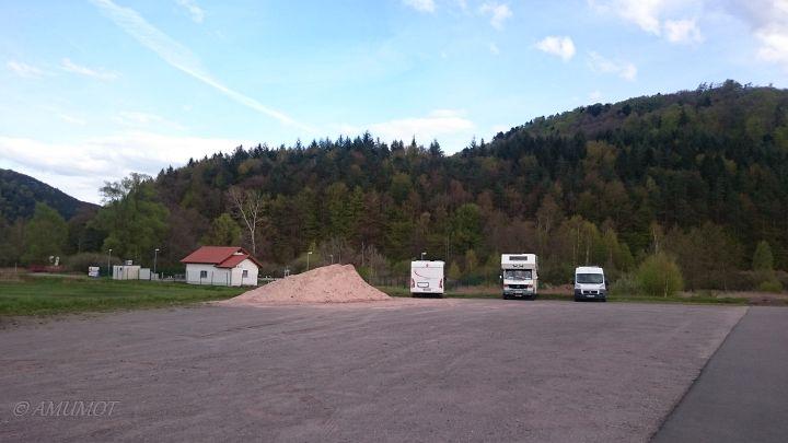privater Stellplatz in Fischbach