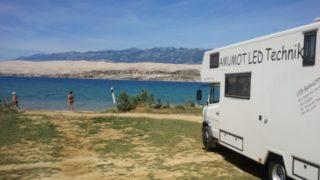 Kroatien – Senj, Insel Pag, Krk mit dem Wohnmobil