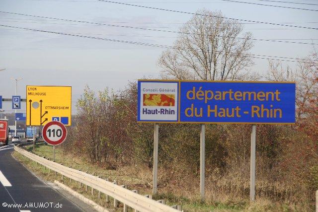 Grenze zu Frankreich
