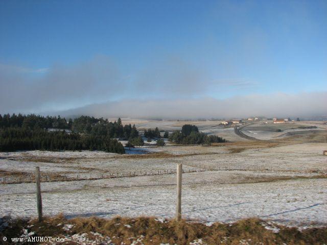 Schnee in frankreich