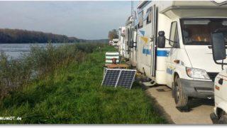 Rumtreiben am Rhein