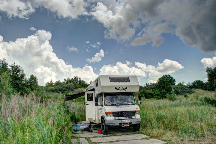 mit dem wohnmobil an den Jezioro Tarnobrzeskie