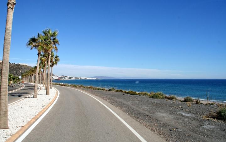 Andalusien Spanien Vera überwintern mit dem wohnmobil