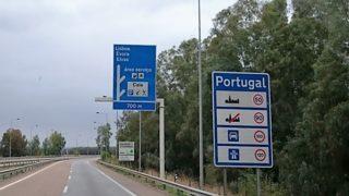 Überwintern 2015 Portugal – Anreise
