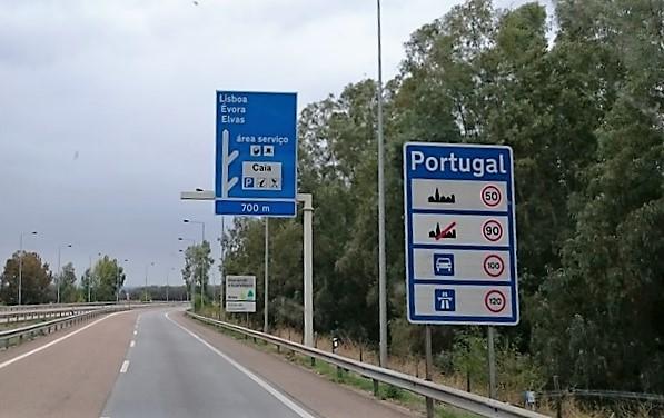 Endlich Portugal erreicht