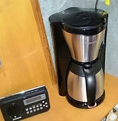 einfache Kaffeemaschine
