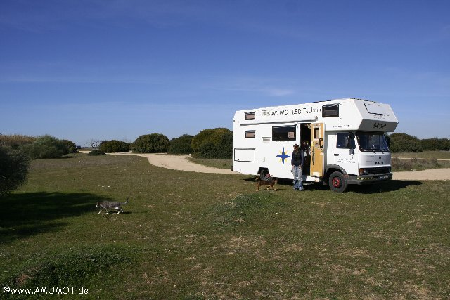 freistehen an der Algarve