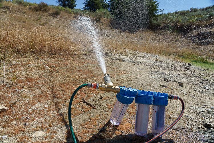 Wasserfilteranlage Eigenbau
