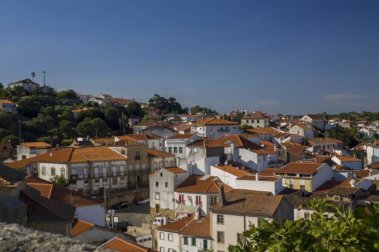Blick über die Stadt Idanha a Nova