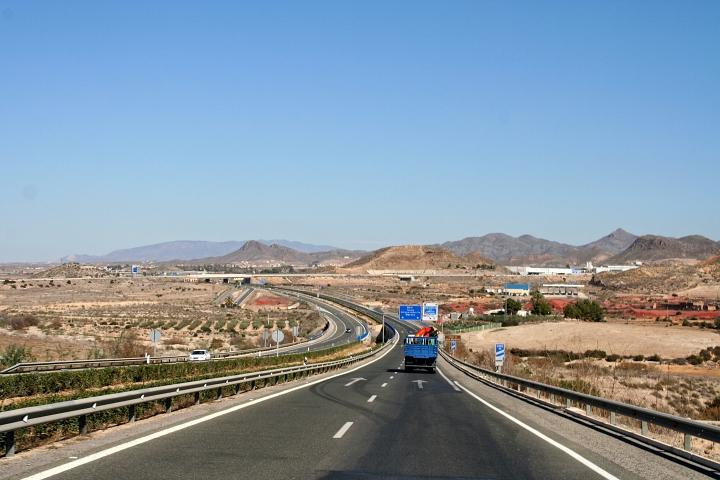 Inland Spanien bei Mazarron