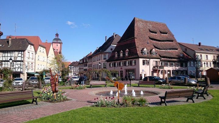 Gepflegte Altstadt Wissembourg