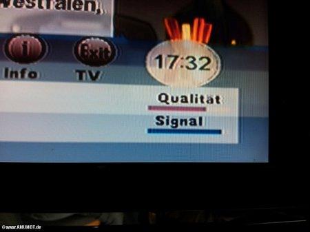Internet und Fernsehen geht gleichzeitig