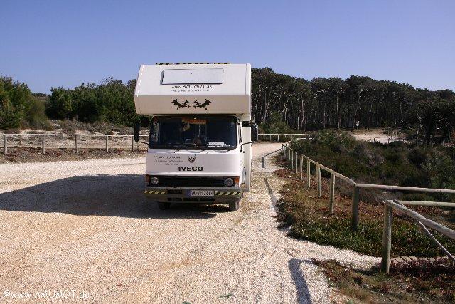 überwintern in Portugal - reisebericht
