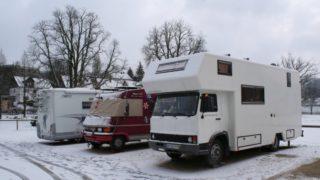 Das Leben im Wohnmobil – Überwintern in Deutschland