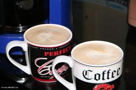 Ein Kaffee am Morgen ...