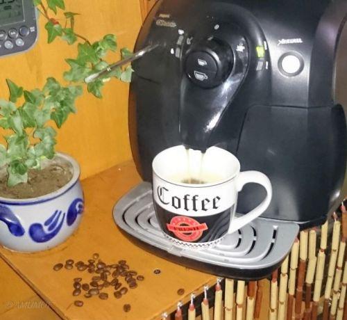 Kaffee läuft
