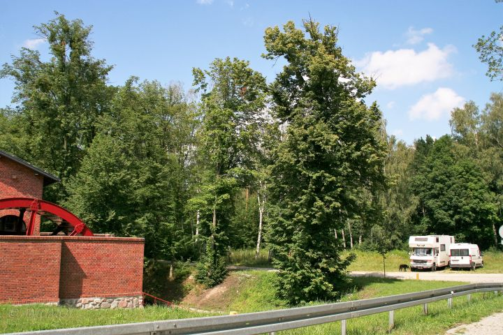 Kostenloser Wohnmobilstellplatz am Oberländer Kanal