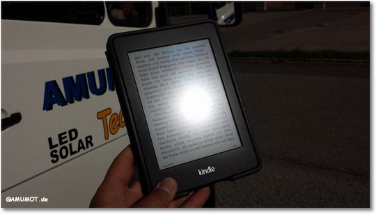 kindle bei sonne