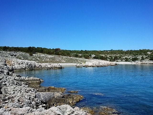 Baden auf der Insel Krk