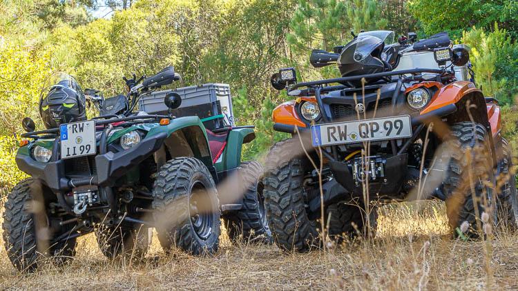 Yamaha Kodiak 450 und Yamaha 700 Kodiak