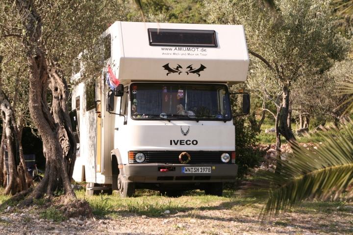 mit dem Wohnmobil nach Kroatien