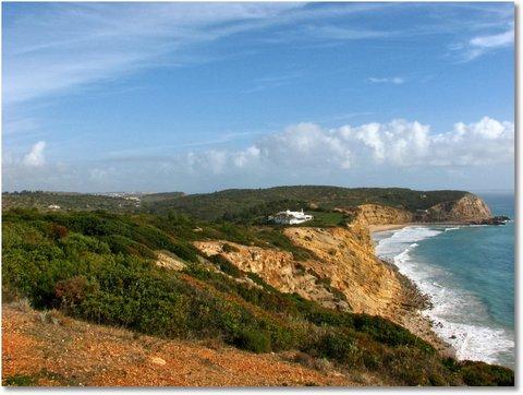 Boca do rio steilküste