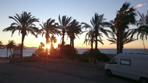 Sonnenaufgang in La Herradura