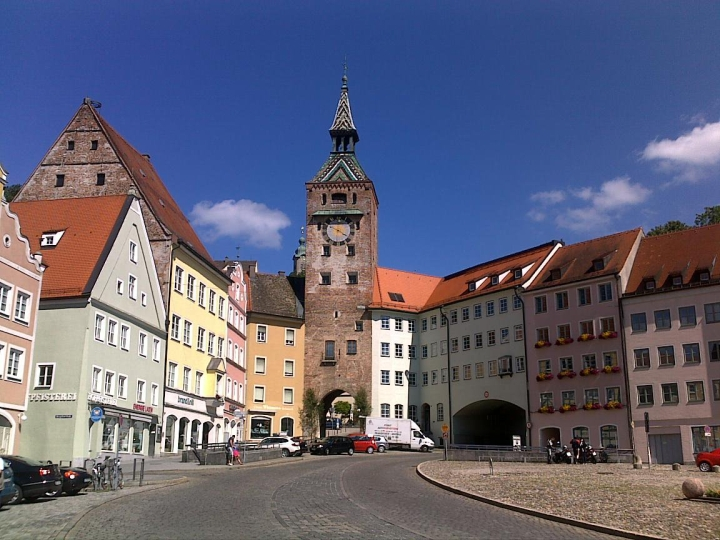 Turm in Landsberg am Lech
